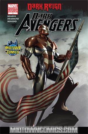 Dark Avengers #1 Midtown Comics Exclusive NYCC 2009 Adi Granov Variant Cover (Dark Reign Tie-In)