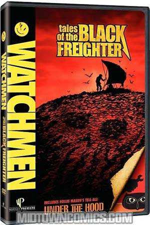Watchmen Tales Of The Black Freighter DVD