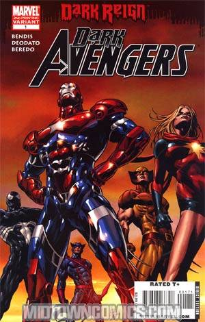 Dark Avengers #1 Cover G 2nd Ptg Mike Deodato Jr Variant Cover (Dark Reign Tie-In)