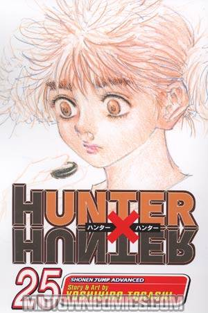 Hunter X Hunter Vol 25 TP