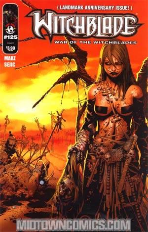Witchblade #125 Cover A Chris Bachalo Sara Pezzini