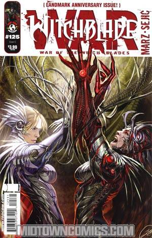 Witchblade #125 Cover C Stjepan Sejic