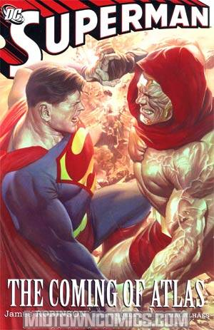 Superman Coming Of Atlas HC