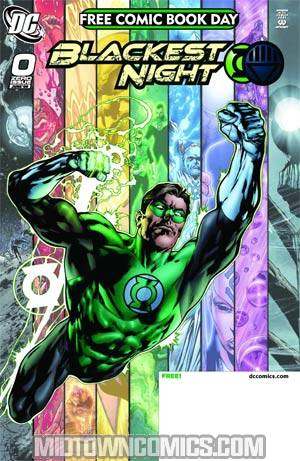 Blackest Night #0 (FCBD 2009 )