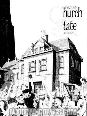 Cerebus Vol 3 Church & State 1 TP