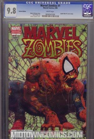 Marvel Zombies #1 2nd Ptg Variant CGC 9.8
