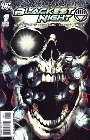Blackest Night #1 1st Ptg Regular Ivan Reis Cover