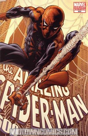 Amazing Spider-Man Vol 2 #600 Incentive Joe Quesada Wraparound Variant Cover