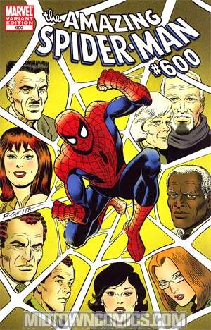 Amazing Spider-Man Vol 2 #600 Incentive John Romita Sr Variant Cover
