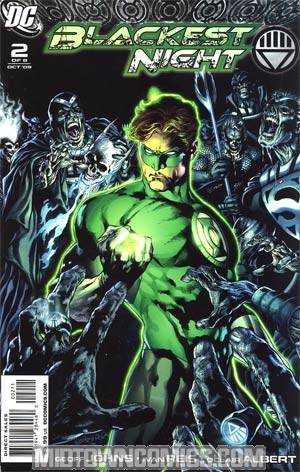 Blackest Night #2 1st Ptg Regular Ivan Reis Cover