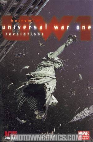 Universal War One Vol 2 Revelations HC