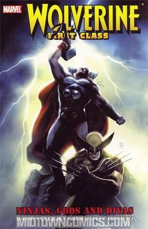 Wolverine First Class Ninjas Gods And Divas TP