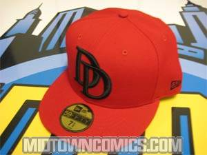 Daredevil Symbol Cap - Red/Red Size 7 (55.8 cm / 22 in)