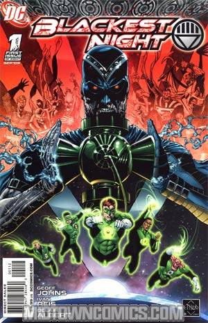 Blackest Night #1 2nd Ptg