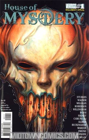 House Of Mystery Vol 2 Halloween Annual #1