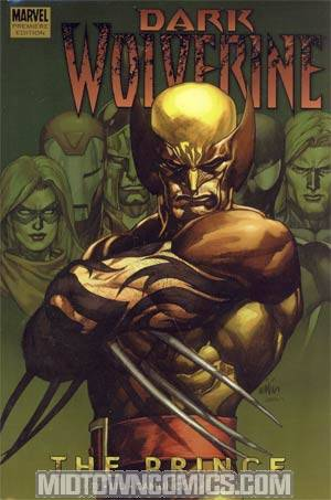 Wolverine Dark Wolverine Vol 1 The Prince HC