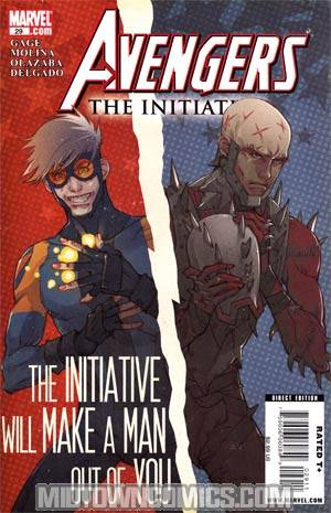 Avengers The Initiative #29 Regular Matteo De Longis Cover
