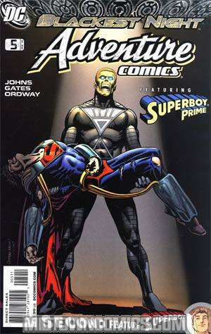 Adventure Comics Vol 2 #5 Cover A Regular Jerry Ordway Cover (Blackest Night Tie-In)