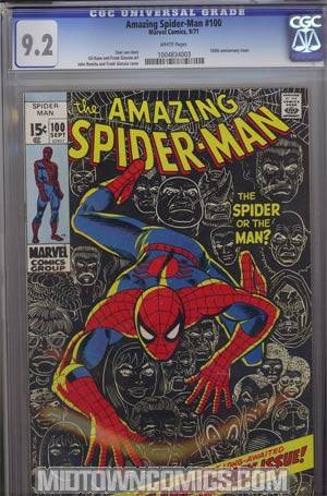 Amazing Spider-Man #100 CGC 9.2