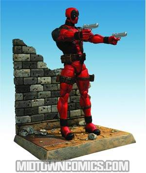 Marvel Select Deadpool Regular Masked Action Figure