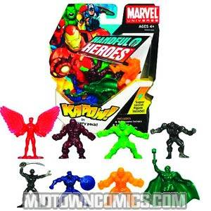 Marvel Universe Handful Of Heroes Assortment 201001 Figures Pack