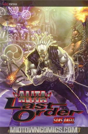 Battle Angel Alita Last Order Vol 13 Sans Angel TP