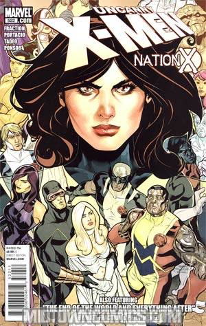Uncanny X-Men #522 Regular Terry Dodson Cover (Nation X Tie-In)