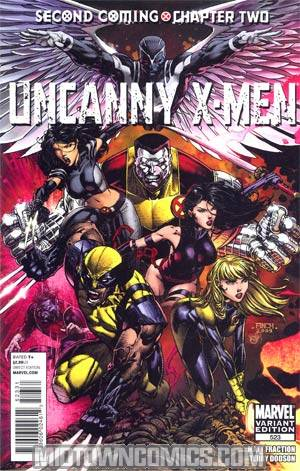 Uncanny X-Men #523 Incentive David Finch Variant Cover (X-Men Second Coming Part 2)