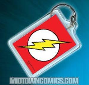 Flash Logo Keychain