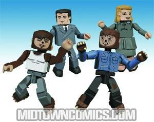 Universal Monsters Minimates Wolfman Box Set
