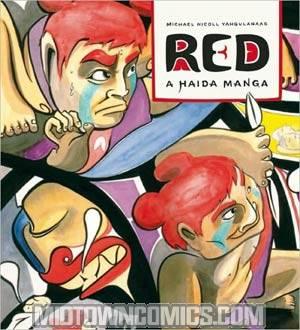 Red A Haida Manga GN