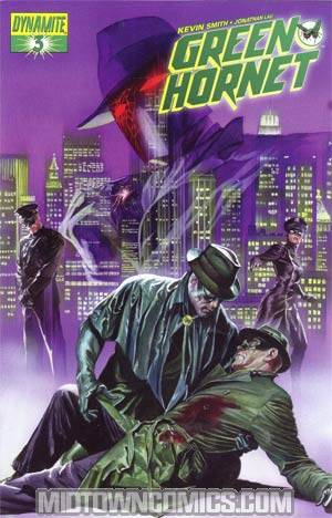Kevin Smiths Green Hornet #3 Regular Alex Ross Cover