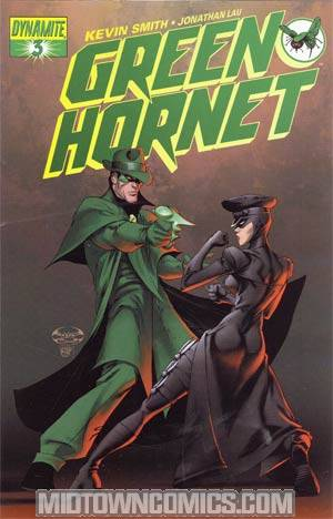 Kevin Smiths Green Hornet #3 Regular Joe Benitez Cover