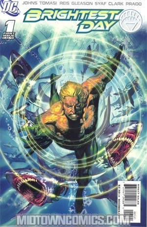 Brightest Day #1 Incentive Ivan Reis Variant Cover