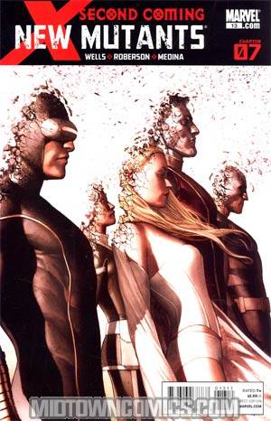 New Mutants Vol 3 #13 1st Ptg Regular Adi Granov Cover (X-Men Second Coming Part 7)