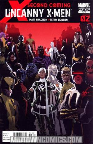 Uncanny X-Men #523 2nd Ptg Terry Dodson Variant Cover (X-Men Second Coming Part 2)