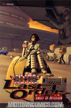 Battle Angel Alita Last Order Vol 14 Angel Of Defusion TP