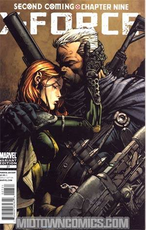 X-Force Vol 3 #27 Incentive David Finch Variant Cover (X-Men Second Coming Part 9)