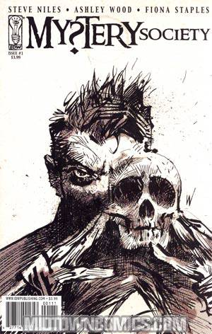 Mystery Society #1 1st Ptg Regular Ashley Wood Cover