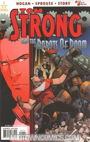 Tom Strong And The Robots Of Doom #1 Cover A Regular Chris Sprouse Cover