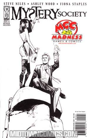Mystery Society #1 Madness Games & Comics Fiona Staples Variant Cover