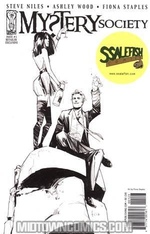 Mystery Society #1 Ssalefish Comics Fiona Staples Variant Cover
