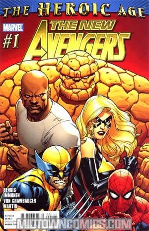 New Avengers Vol 2 #1 1st Ptg Regular Stuart Immonen Cover (Heroic Age Tie-In)