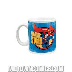 Superman Man Of Steel 12-Ounce Ceramic Mug