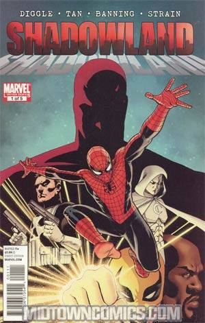 Shadowland #1 1st Ptg Regular John Cassaday Cover