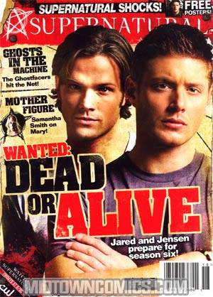 Supernatural Magazine #18 Newsstand Edition