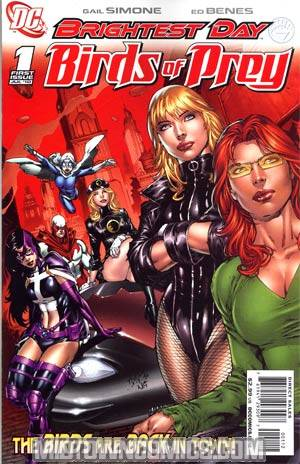 Birds Of Prey Vol 2 #1 2nd Ptg (Brightest Day Tie-In)