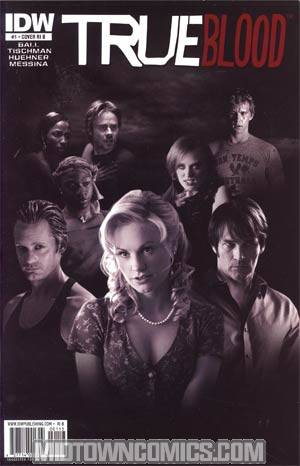 True Blood #1 Incentive Photo Variant Cover