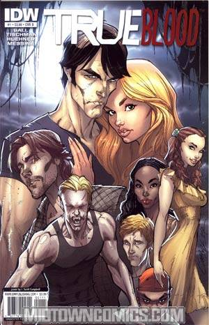 True Blood #1 1st Ptg Regular Cover B