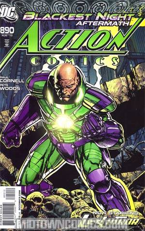 Action Comics #890 Cover C 2nd Ptg (Blackest Night Aftermath)